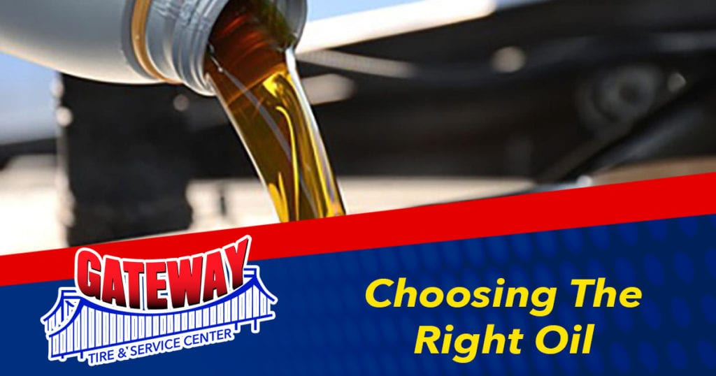 Choosing The Right Oil